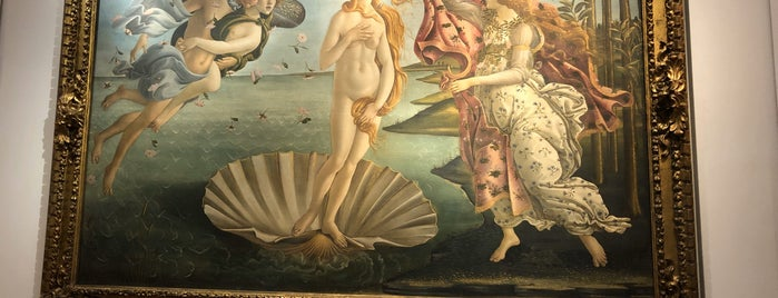 Die Geburt der Venus - Botticelli is one of Florence See.