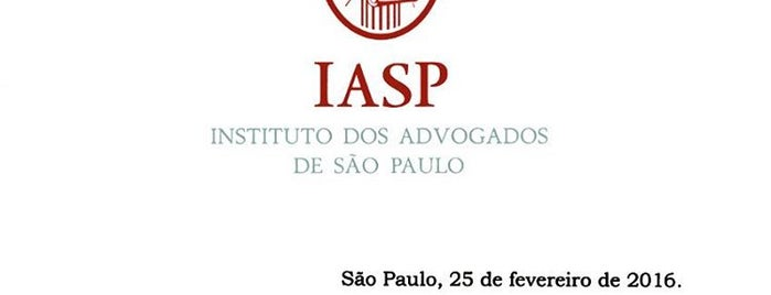 IASP - Instituto dos Advogados de São Paulo is one of Merciny'in Beğendiği Mekanlar.