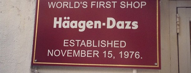Häagen-Dazs is one of Brooklyn Heights Neighborhood Guide.