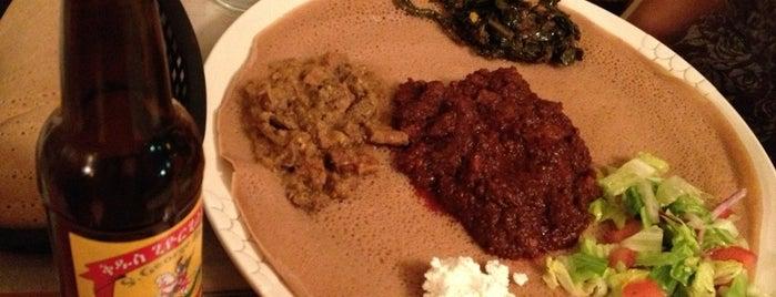 Meskerem Ethiopian Restaurant is one of Vegan dining in Las Vegas.
