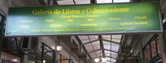 Galeria de Libros y Coleccionismo is one of Paulinaさんのお気に入りスポット.