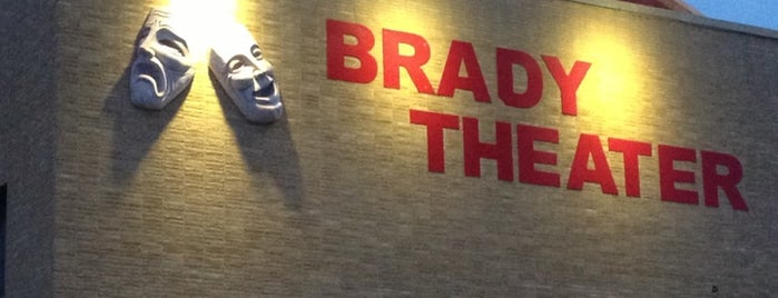 Brady Theater is one of Historian.