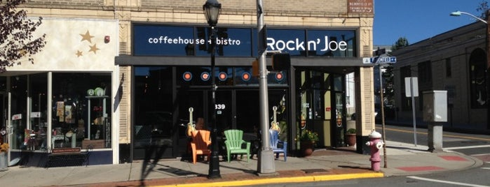 Rockn' Joe Coffeehouse & Bistro is one of coffee shops.