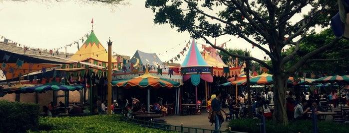 Fantasy Gardens is one of 香港CI之指南書.