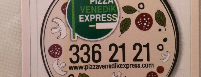 Pizza Venedik Express is one of Yemek.