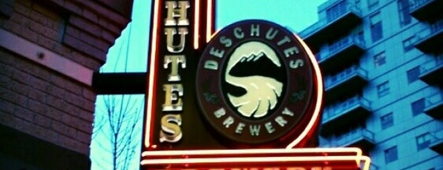 Deschutes Brewery Portland Public House is one of Where To Eat Around SearchFest 2015.
