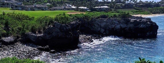 The Bay Course is one of Hawaii.