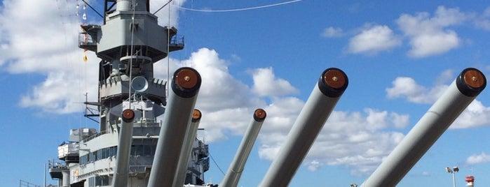 USS Missouri Memorial is one of Battleship Museums.