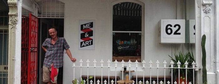 Mary Street Cafe (Me & Art) is one of Sydneyforamelbourneboy.
