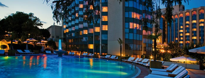 Swissôtel The Bosphorus is one of Best Beaches and Pools in Istanbul.