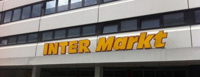 INTER Markt is one of Tempat yang Disukai Andreas.