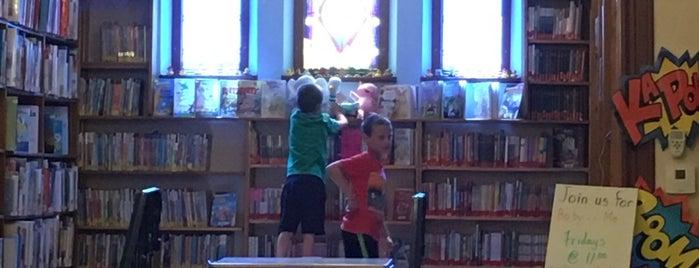 Stillwater Public Library is one of สถานที่ที่บันทึกไว้ของ Nicholas.