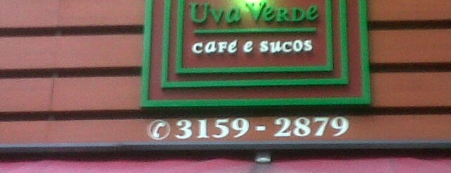 Uva Verde - Café e Sucos is one of Por aí em Sampa.