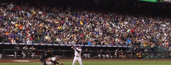 Coors Field is one of Baseball Stadiums To Visit....
