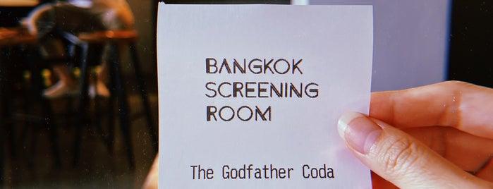 Bangkok Screening Room is one of uwishunu bangkok.