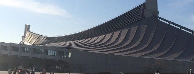 国立代々木競技場 第一体育館 is one of 建築マップ(日本)/ Architecture Map (Japan).