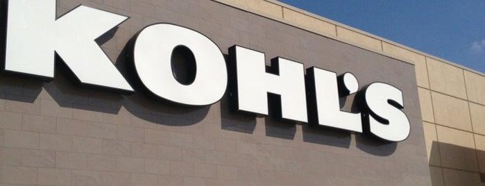 Kohl's is one of Tempat yang Disimpan Naveen.