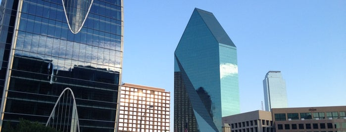 Downtown Dallas is one of Year in Dallas.