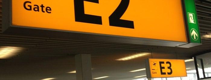 Gate E2 is one of Lugares favoritos de Kees.