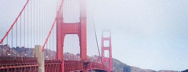 Golden Gate Bridge is one of USA San Francisco.