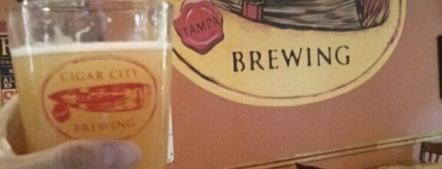 Cigar City Brewing is one of Tamper, Flor-iduh.