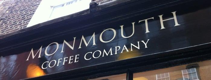 Monmouth Coffee Company is one of Cafés EU.