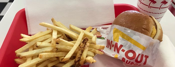 In-N-Out Burger is one of Francis: сохраненные места.