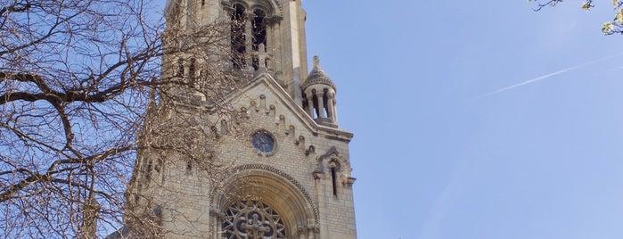 Église Notre-Dame de la Croix is one of Paris.
