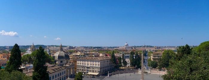Terrazza del Pincio is one of Rome / Roma.