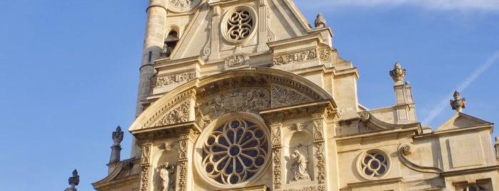 Église Saint-Étienne-du-Mont is one of Paris.