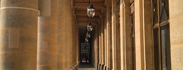 Palais Royal is one of Jas' favorite urban sites.