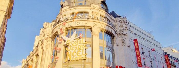 BHV Marais is one of Noël Paris.