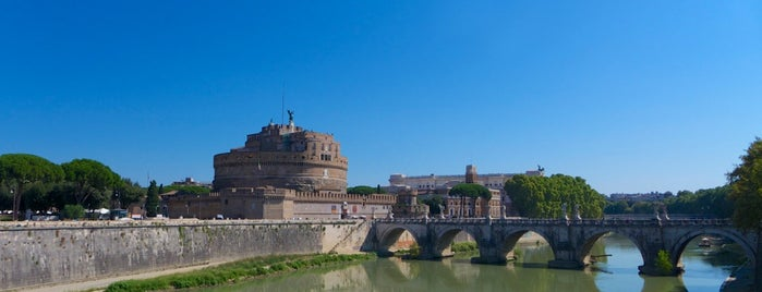 Ponte Vittorio Emanuele II is one of Rome / Roma.