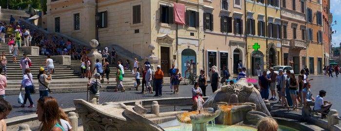 Fontana della Barcaccia is one of Rome / Roma.