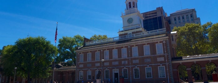 Independence Hall is one of Philadelphia.