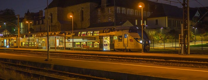 Gare SNCF de Vitré is one of Neige 2021.