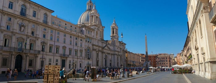 Piazza Navona is one of Rome / Roma.