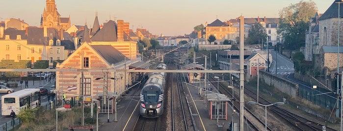 Passerelle de la Gare is one of Neige 2021.