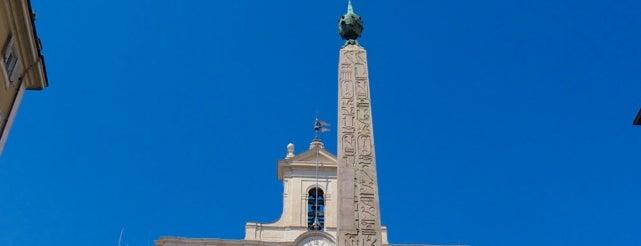 Piazza di Montecitorio is one of Rome / Roma.
