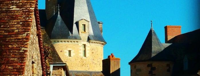 Château de Sainte-Suzanne is one of Les plus beaux villages de France.
