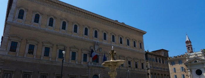 Piazza Farnese is one of Rome / Roma.