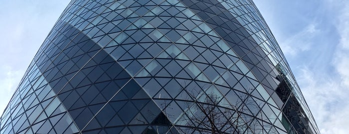 30 St Mary Axe is one of My London.