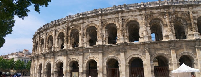 Arènes de Nîmes is one of World Heritage Sites List.