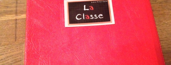 La Classe is one of Lieux gourmands et gourmets.