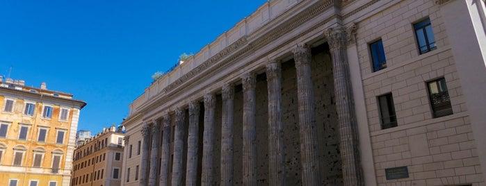 Tempio di Adriano is one of Rome / Roma.