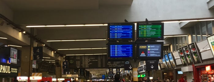 Gare SNCF de Paris Montparnasse is one of Orte, die Onur gefallen.