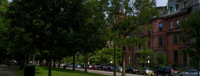 Commonwealth Avenue Mall is one of Boston.