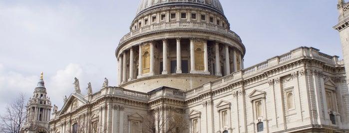 St Paul's Churchyard is one of My London.