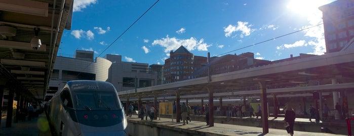 South Station Terminal (MBTA / Amtrak) is one of Boston.