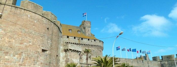 Château Ducal de Saint Malo is one of Châteaux de France.